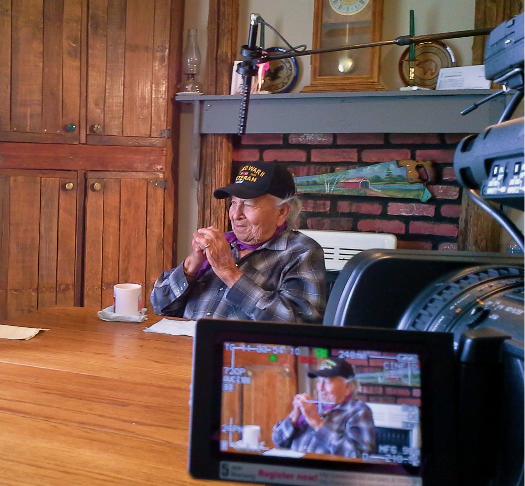 elder interview with Dave